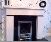 Couple- Enquiring- About- Limestone- Fireplaces- In -Warrington