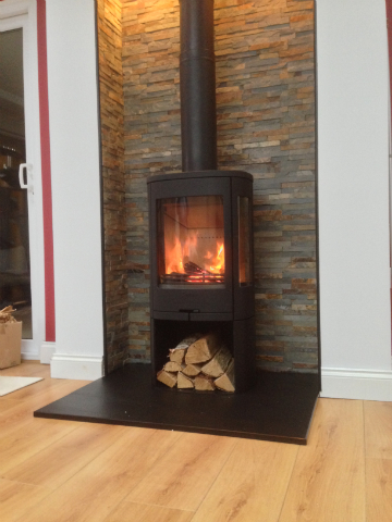 Recent Projects - Free Standing Stoves | ELB FireplacesE.L ...