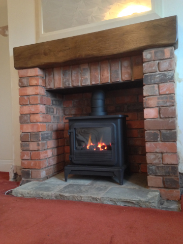 Recent Projects Stoves In Brick Fireplaces ELB Fireplaces
