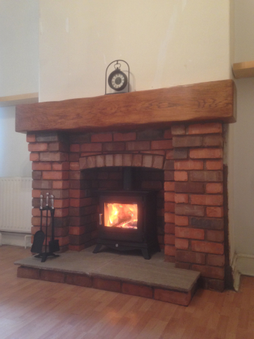Recent Projects Stoves In Brick Fireplaces ELB