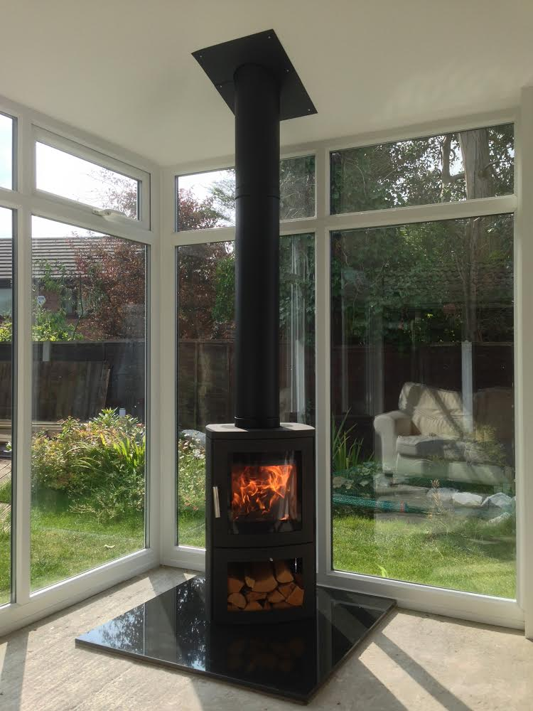 Fitted Stoves In Conservatories In Hale Barns Elb Fireplaces