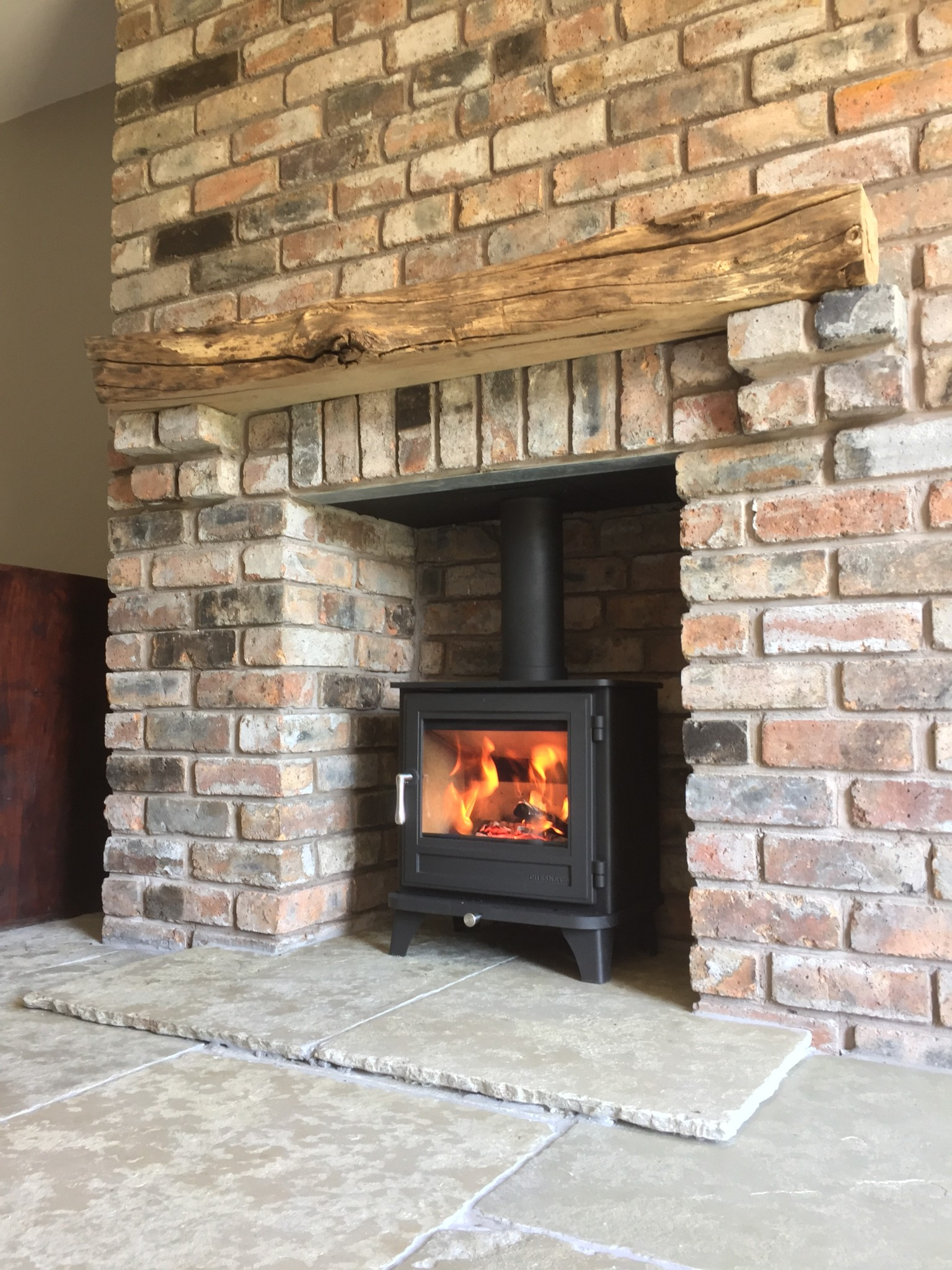 Remarkable What Is The Installation Process For Fitting A Wood Burning Interior Design Ideas Greaswefileorg