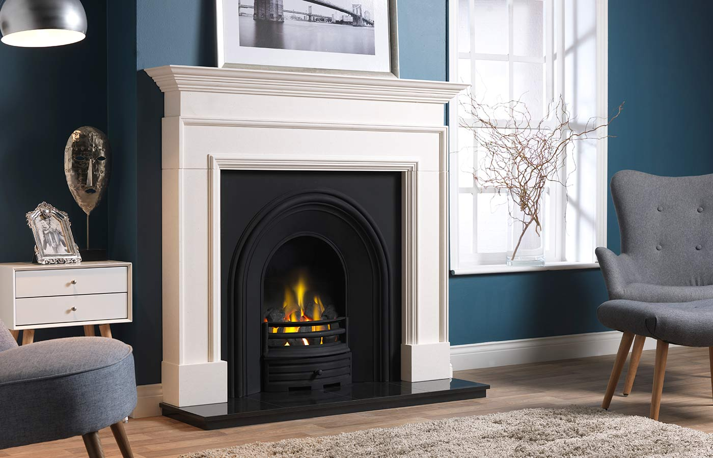 The Cortese Fireplace