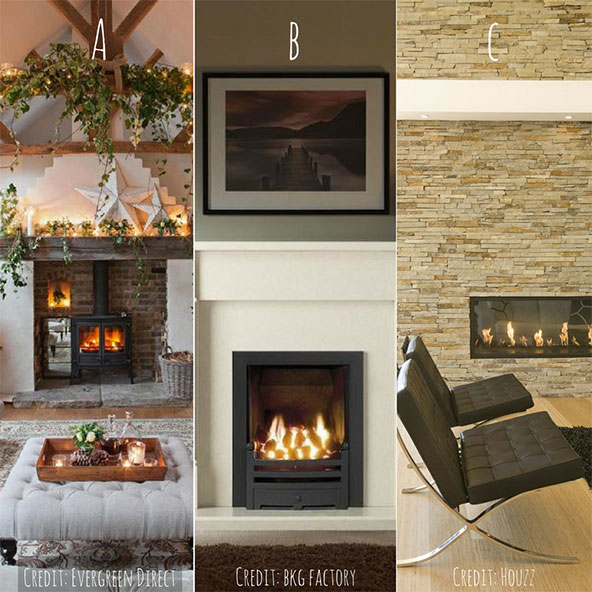 Appealing fireplaces
