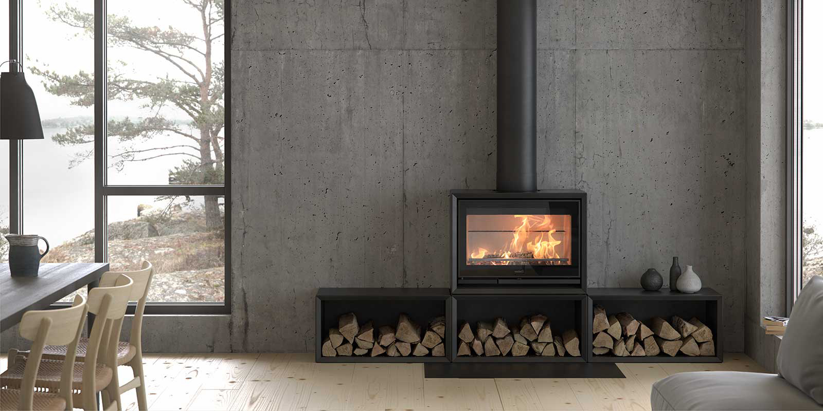 Contura Stoves   Wood Burning Stoves   ELB Fireplaces